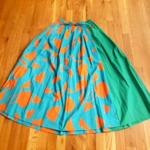 Multicolor Maxi Skirt